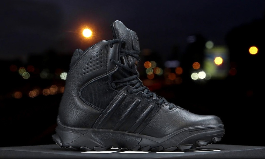 ADIDAS TACTICAL BOOTS GSG-9.7 SWAT CORE BLACK r 44