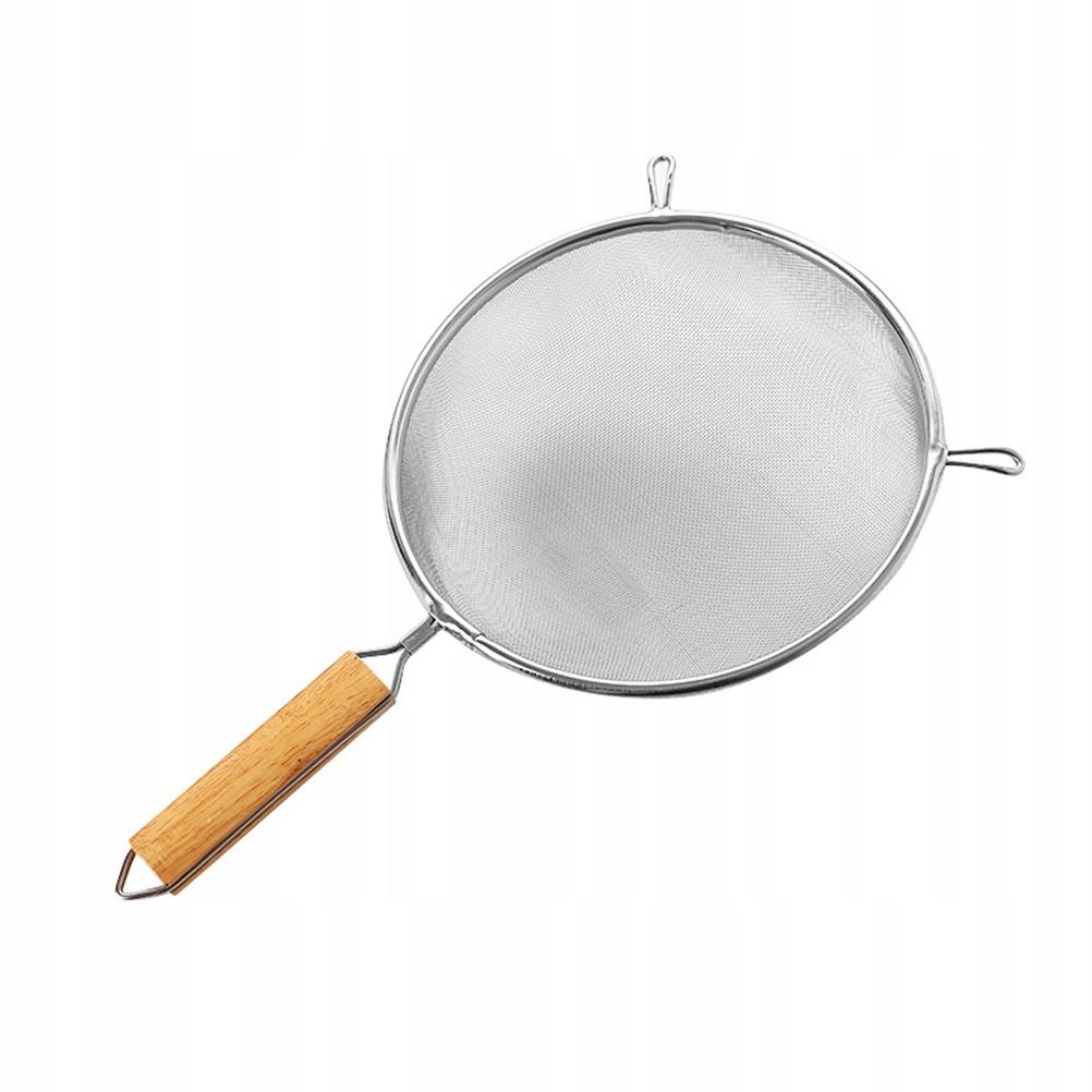 1 szt Okrągły kształt sitka ze stali nierdzewnej
