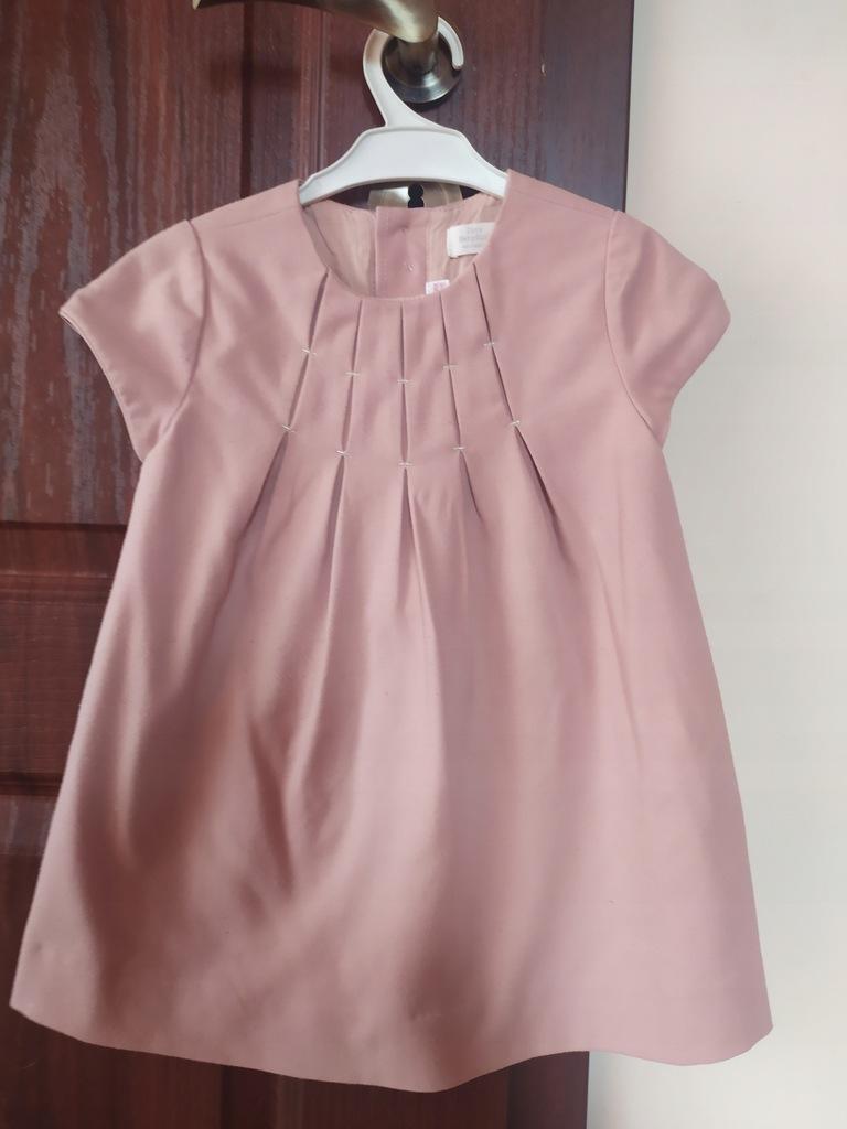 Sukienka dla dziewczynki ZARA - wesele,komunia 98