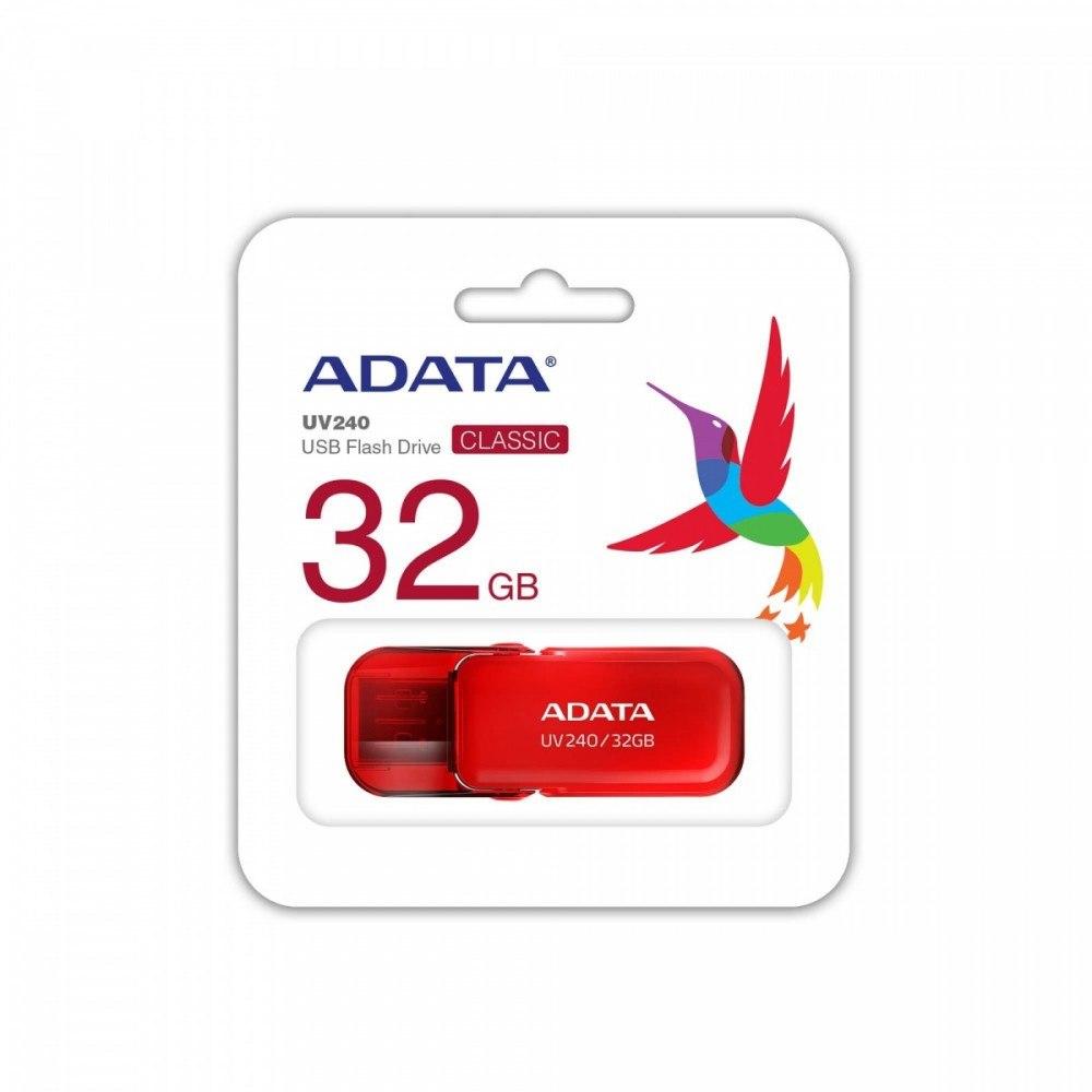 Pendrive UV240 32GB USB 2.0 Czerwony
