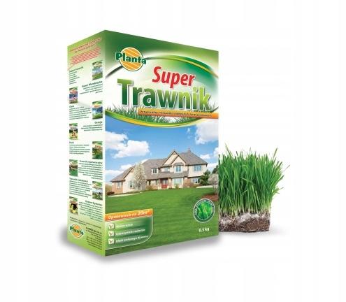 PLANTA nasiona MIESZANKA GAZONOWA SUPER TRAWNIK2KG