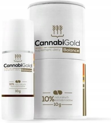 Olejek Konopny Cannabigold Balance 10% 10g