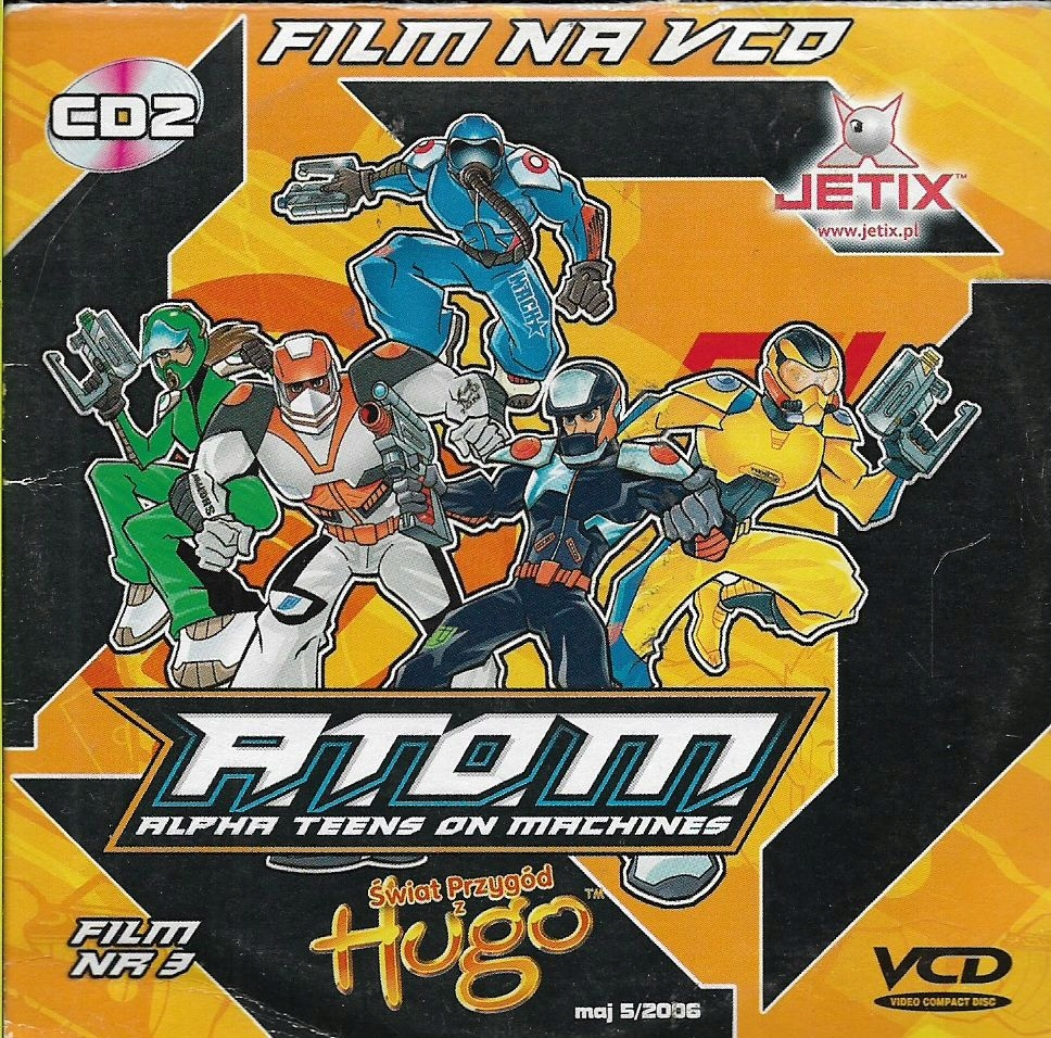 Atom - Alpha Teens on Machines VCD