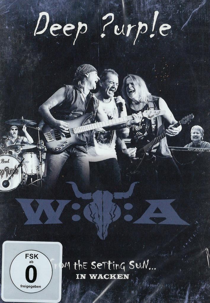 >Deep Purple FROM THE SETTING SUN IN WACKEN DVD
