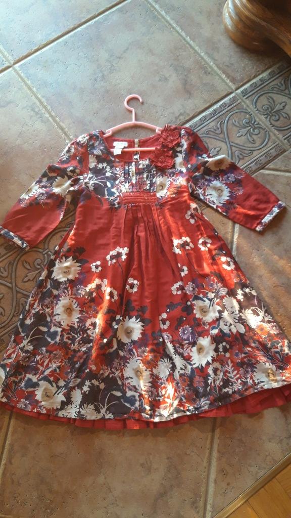 MONSOON sukieneczka roz. - 7 lat
