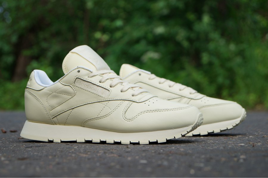 Reebok Classic Leather Pastels washed yellowwhite BD2772