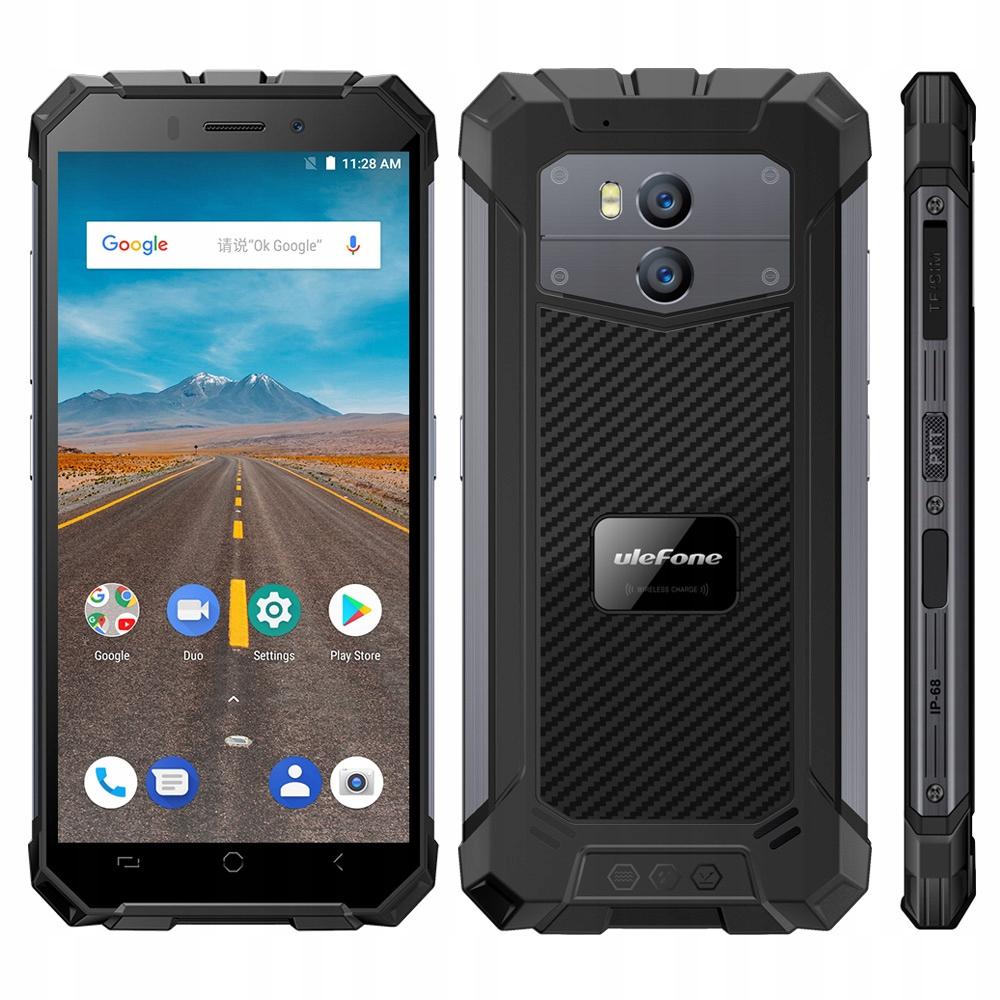 Telefon Ulefone Armor X IP68 2/16GB A8.1 NFC Szary