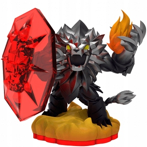 DARK WILDFIRE SKYLANDERS FIGURKA TRAP TEAM