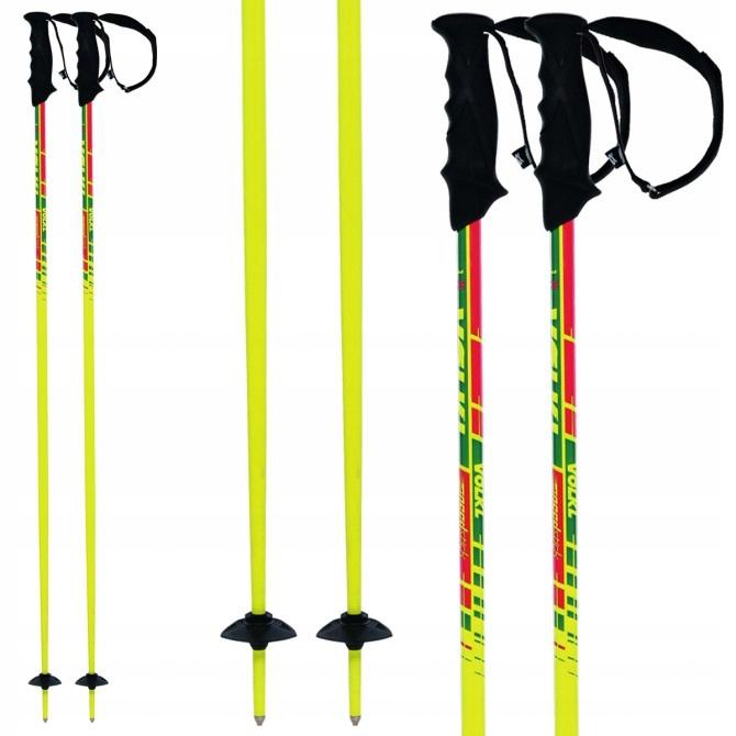 2020 Volkl Speedstick Red Ski Poles