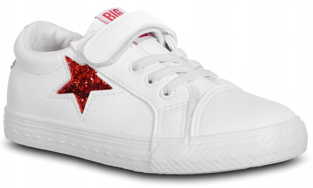 Trampki Big Star dziecięce DD374102 białe eko