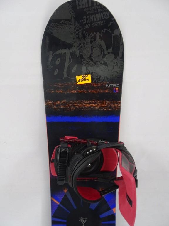 Deska snowboardowa NITRO 157 cm