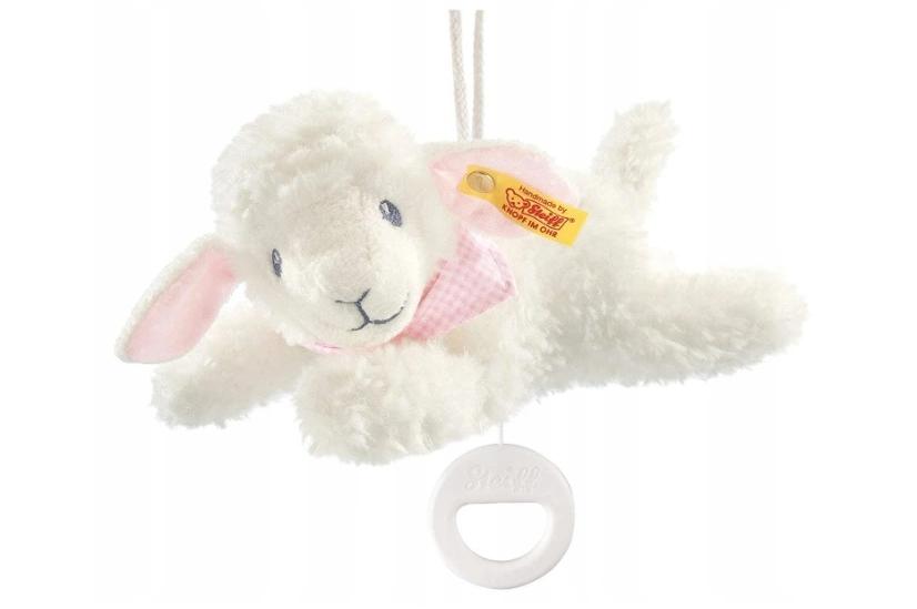 Steiff owieczka maskotka pozytywka owca dźwięk