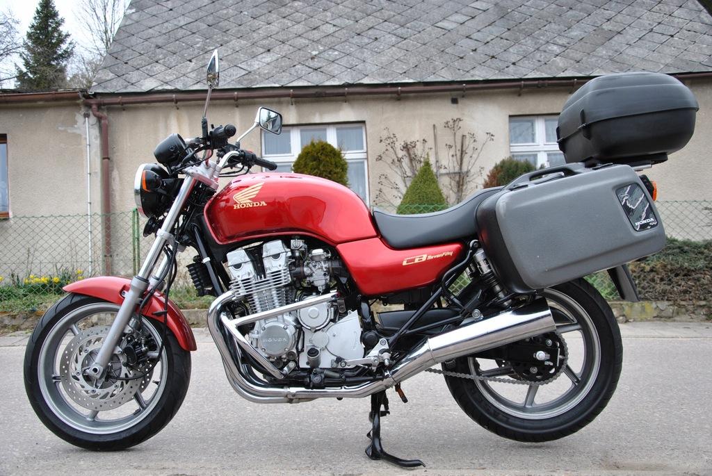 Honda Cb 750 Seven Fifty 93r Niemcy Dodatki 9122794149 Oficjalne Archiwum Allegro