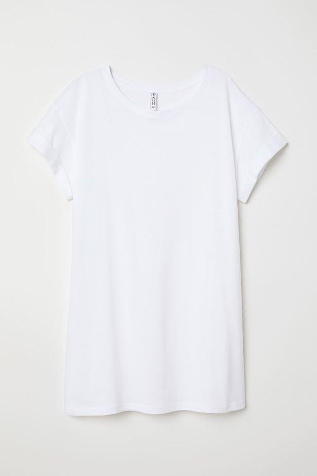 H&M, 38/M, długi t-shirt