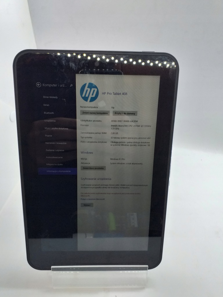 HP PRO TABLET 408 9743