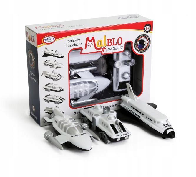 MalBlo MAGNETIC Pojazdy Kosmiczne