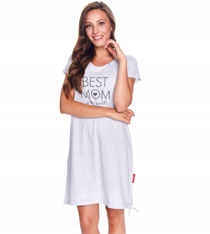 Koszula nocna Doctor Nap TCB.9081 Grey XL