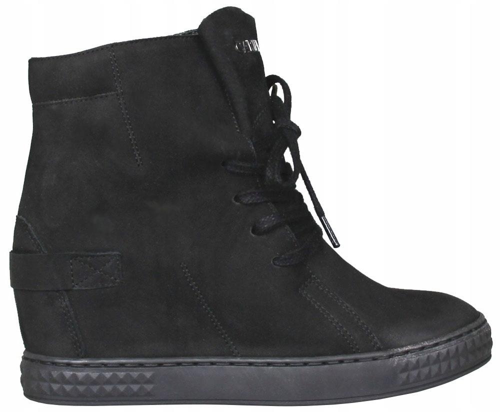 Sneakersy CARINII B3519 (Czarny) ANDORA r.37 7467765282
