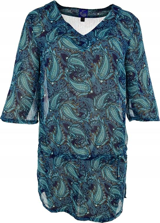 mAF4250 wzorzysta modna tunika 44