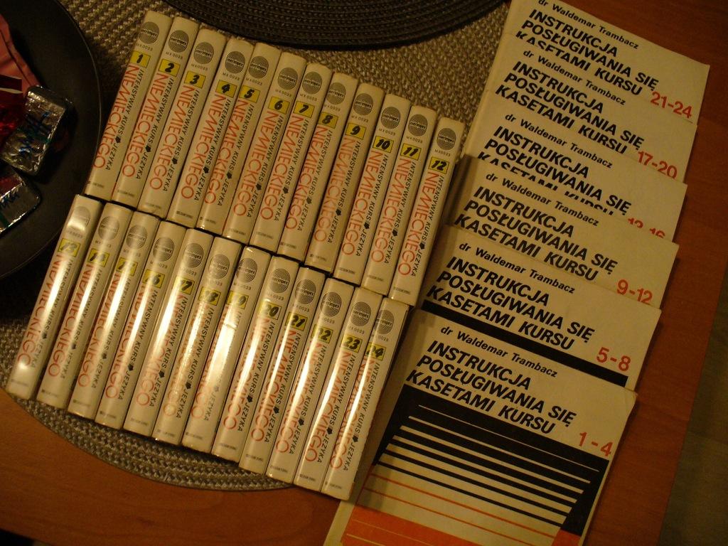 Intensywny Kurs Języka niemieckiego. 24 kaset + in