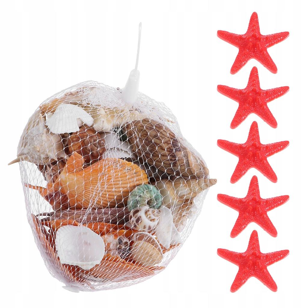 1 zestaw naturalne muszle ślimaki morskie DIY akwa