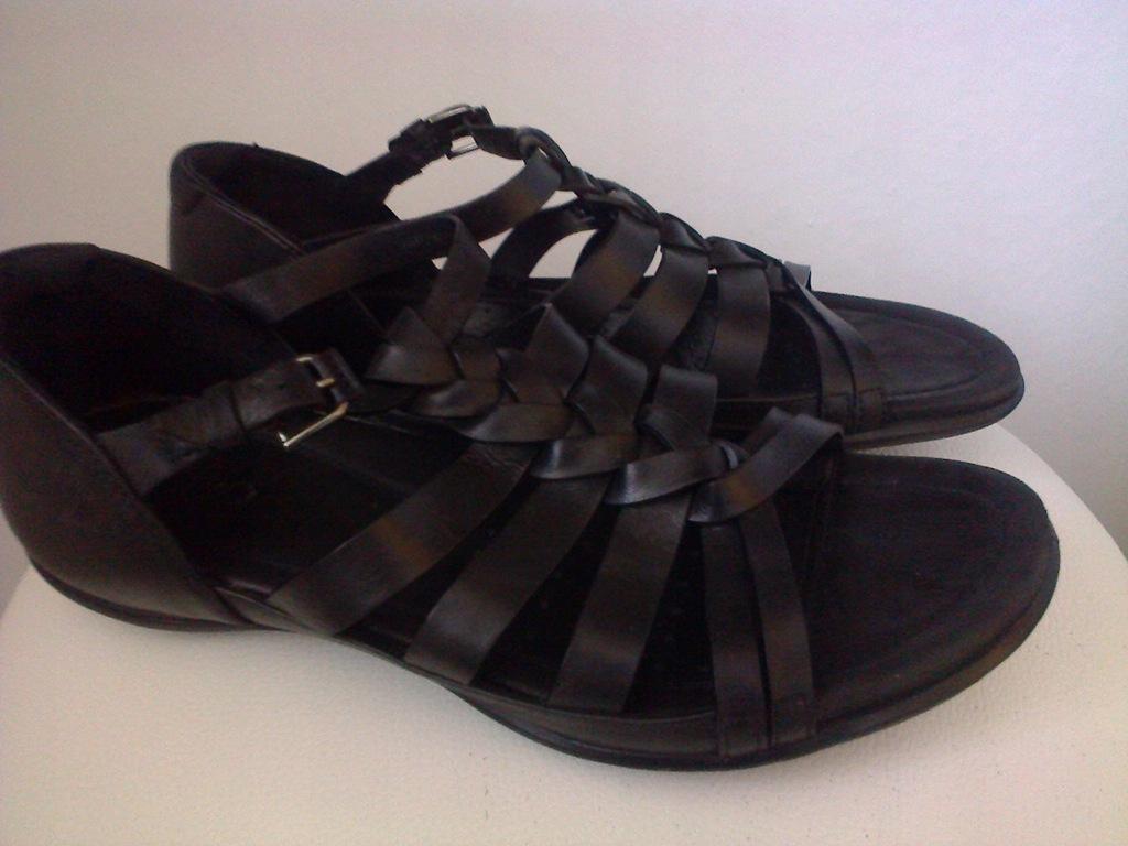 EccoFlash sandały skórzane 40