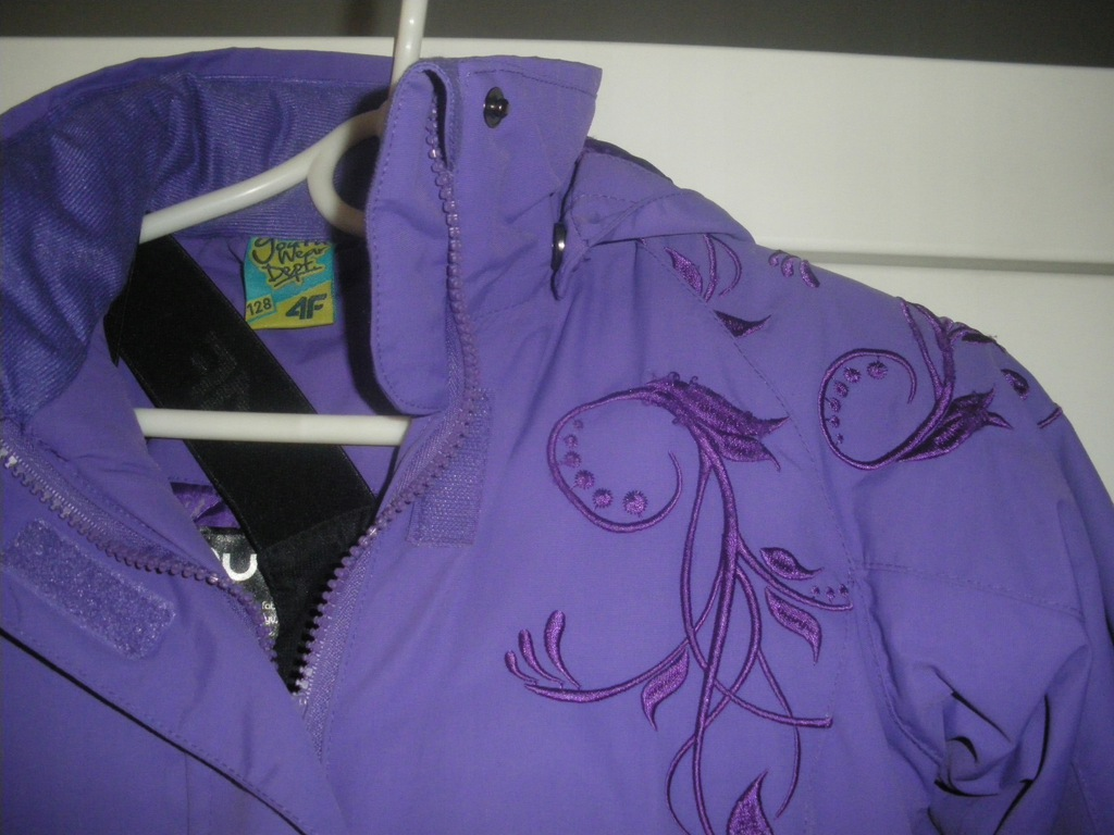 Kombinezon kurtka spodnie 4F rozm. 128