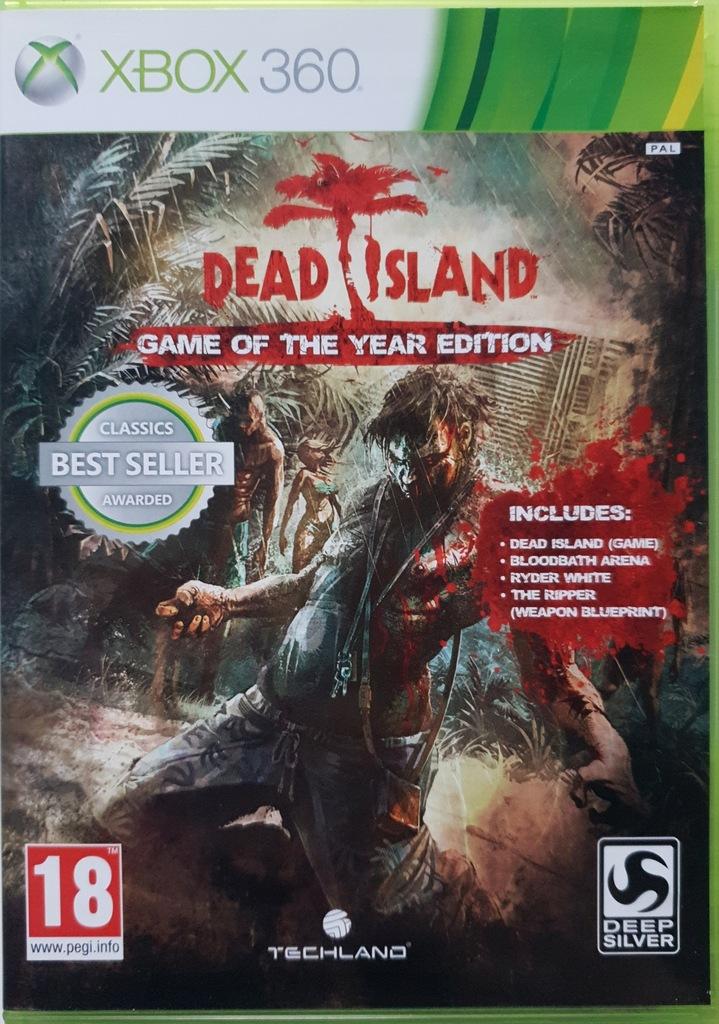 Dead Island Goty Napisy Pl Xbox 360 Gra Zombie 7886758083 Oficjalne Archiwum Allegro