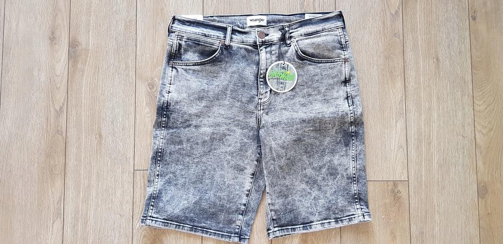 Szorty jeansowe Wrangler 33