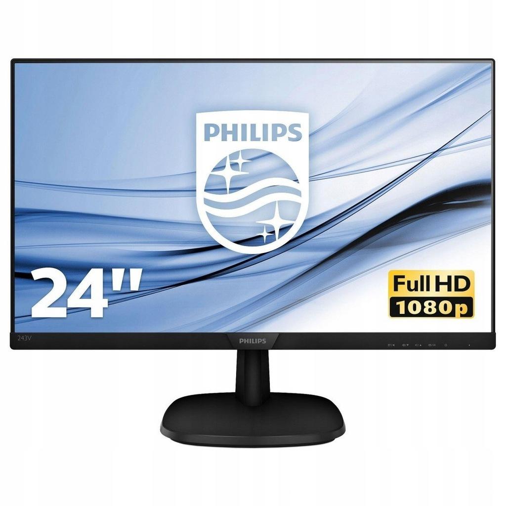 "Monitor Philips 23,8"" 243V7QJABF/00"