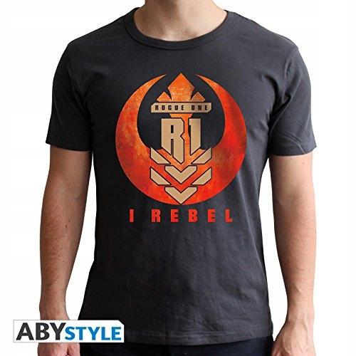 ABYstyle - STAR WARS - Tshirt - I REBEL - men - da