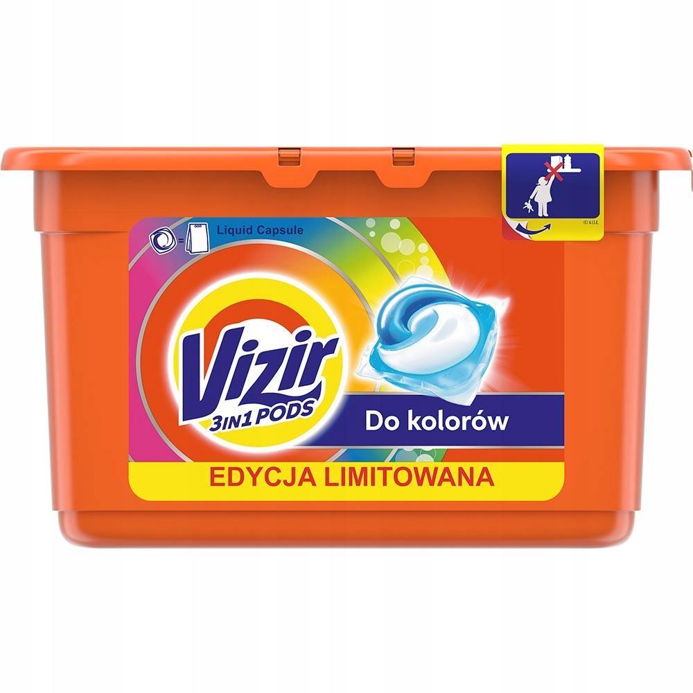 Vizir kapsułki do prania 16szt. do KOLORÓW