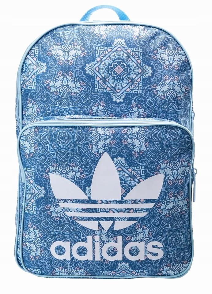 Plecak szkolny adidas damski dwukomorowy DU7736