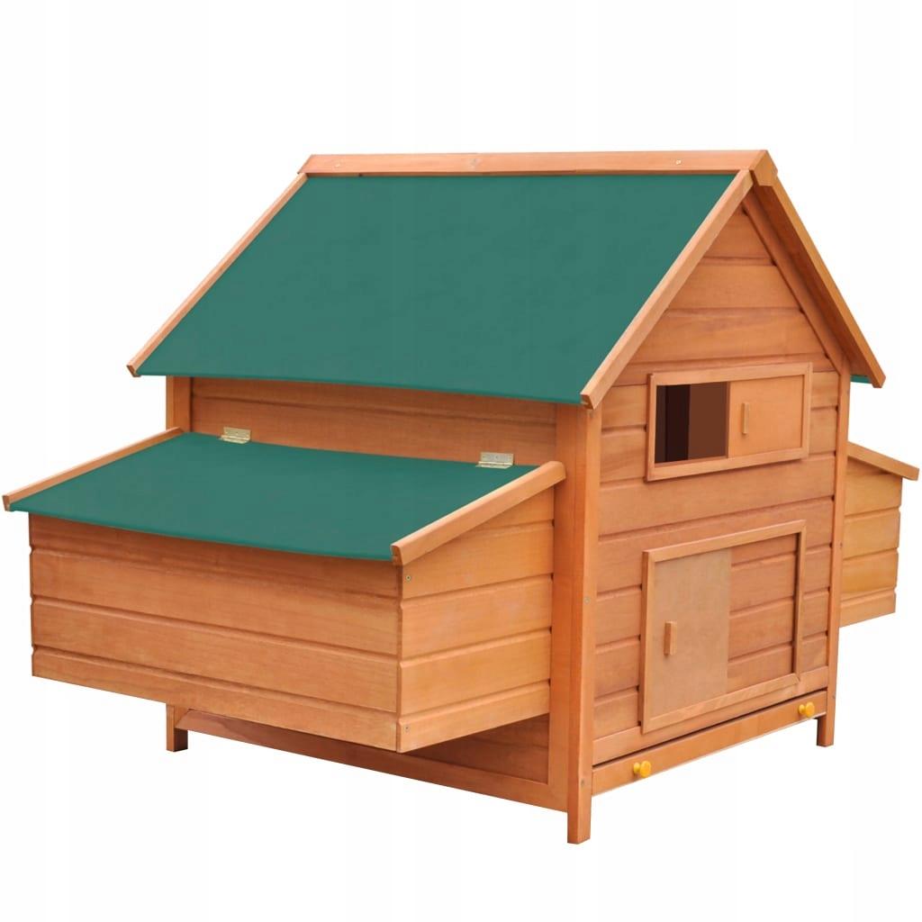 Kurnik drewniany, 157 x 97 x 110 cm