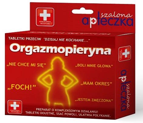 Orgazmopieryna Prezent Na Walentynki Dla Zony 7798605452 Oficjalne Archiwum Allegro