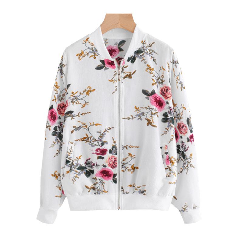 bluza bomber flower allegro