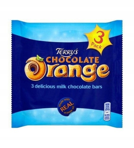 Terry's Milk Chocolate Orange Bar 3 x 35 g