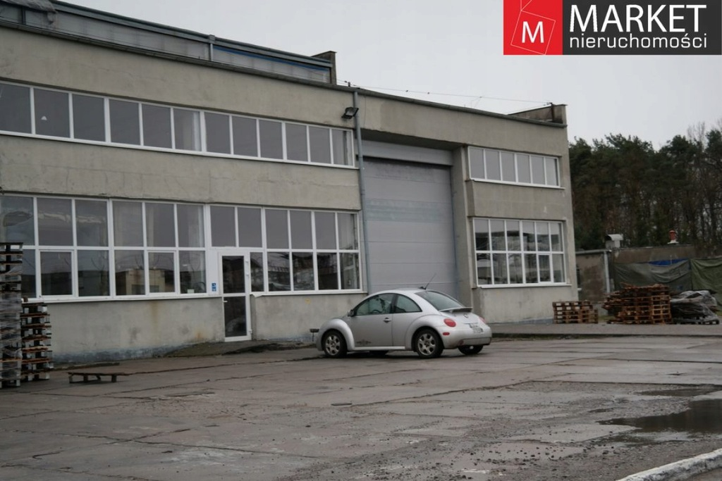 Magazyny i hale, Goleniów, Goleniów (gm.), 2000 m²