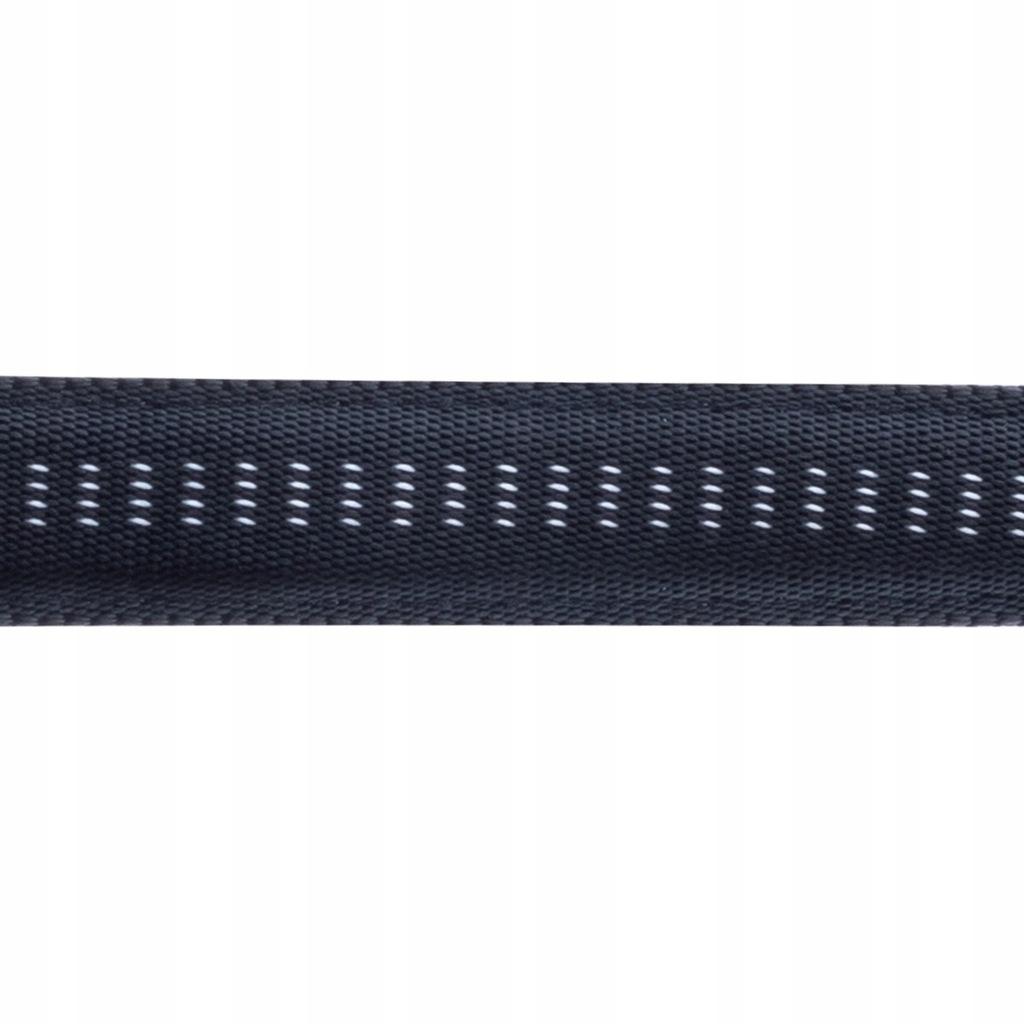 Smycz+obroża Soft Style Happet czarna S 1.0 cm