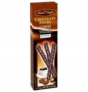 Pałeczki kawowe w ciemnej czekoladzie 75 g