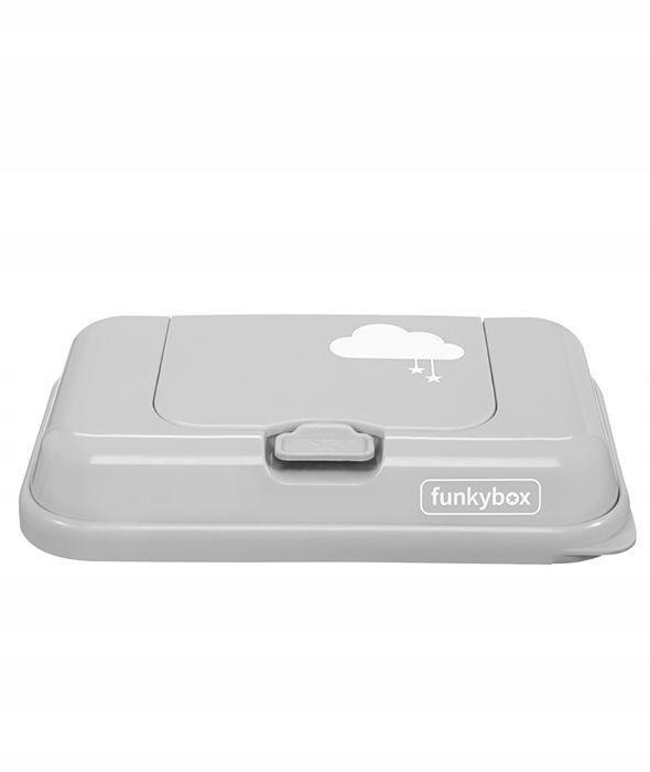 Pojemnik na Chusteczki Ligt Grey Cloud Funkybox