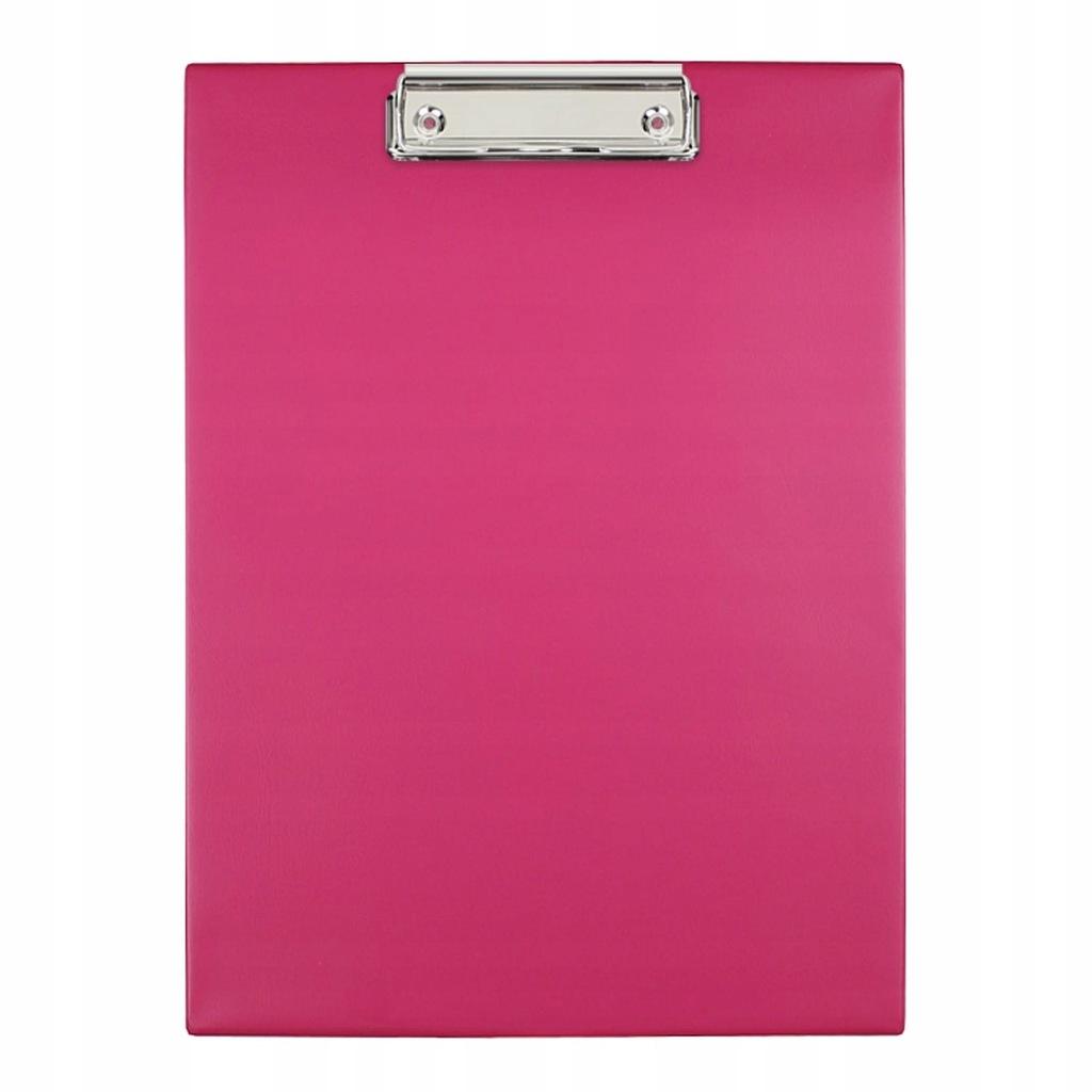 Deska z klipem Biurfol A4 różowy