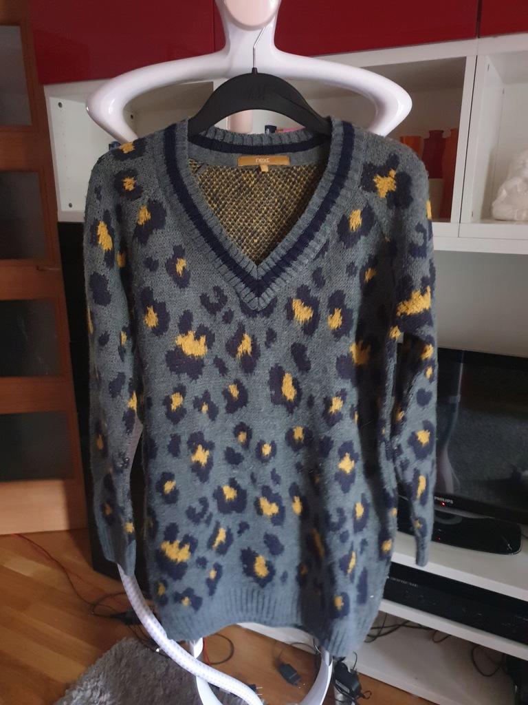 Next Sweter damski w cętki roz 10(38)