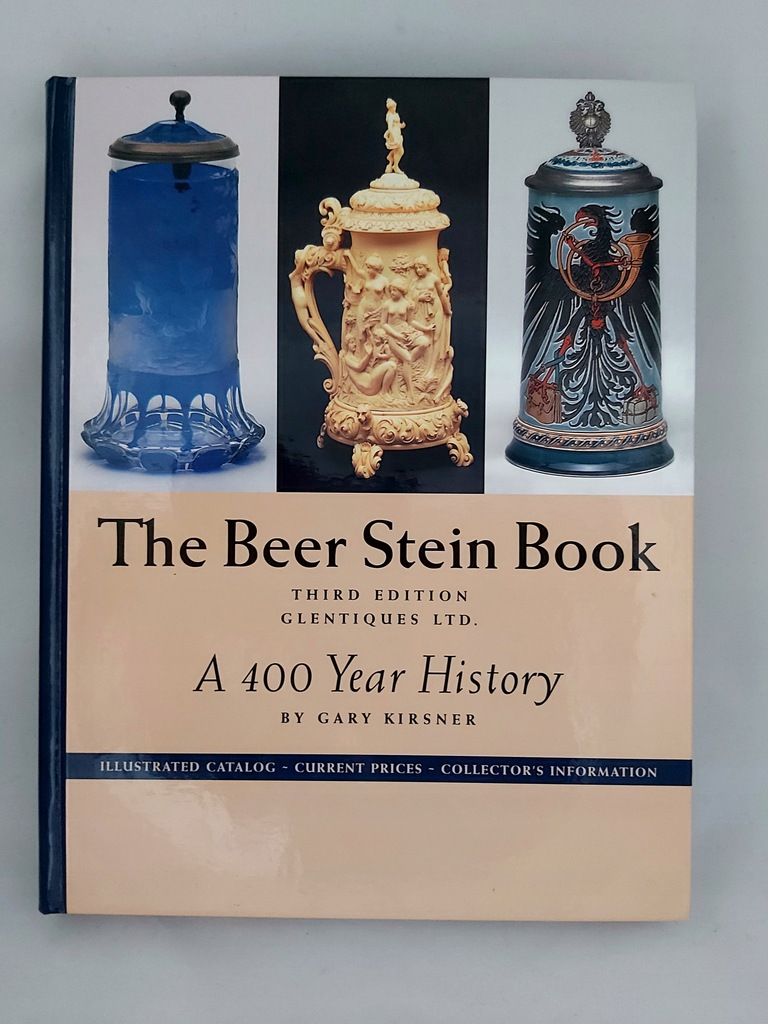 KSIĘGA KUFLI The Beer Stein Book Gary Kirsner