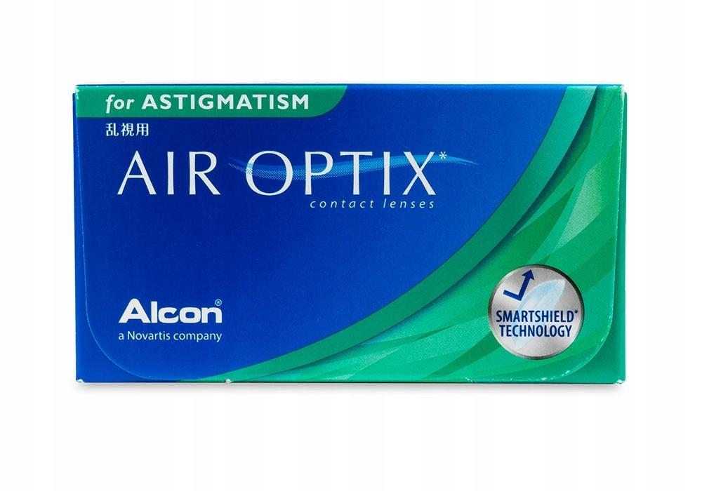 Soczewki kontaktowe 6szt Air Optix +2.00/-1.75/100