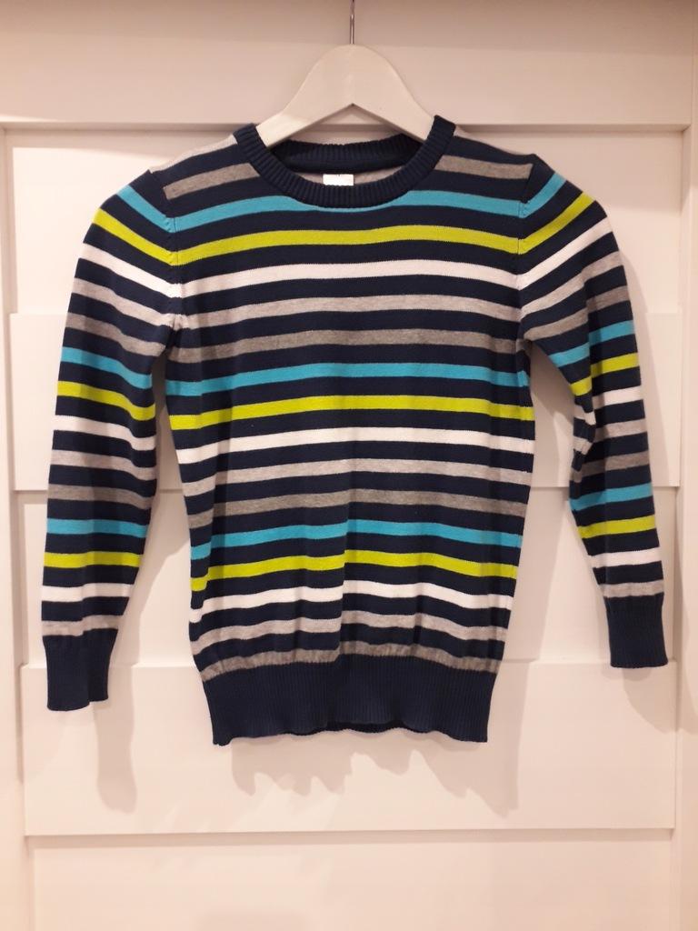 Sweter chłopięcy firmy C&A rozmiar 128cm