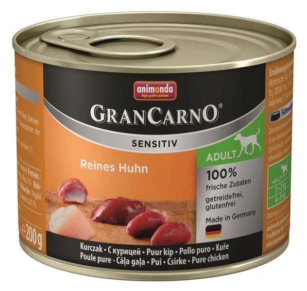 Animonda Grancarno Sensitive Kurczak 200 g