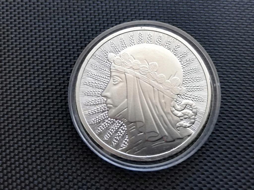 Jadwiga 1 oz Uncja Srebra Polska Moneta Ag 9999
