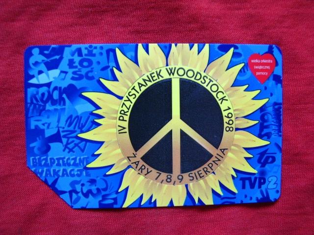 karta IV Przystanek Woodstock -Żary 1998