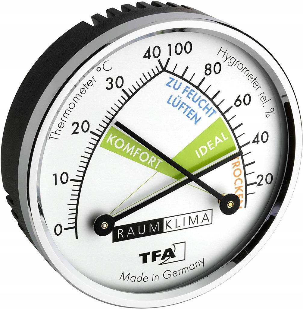 TFA Dostmann Termometr higrometr analogowy